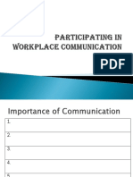 PARTICIPATING IN WORKPLACE COMMUNICATION.ppt