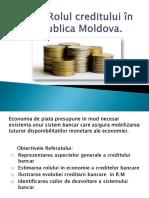 Rolul Creditului in Republica Moldova