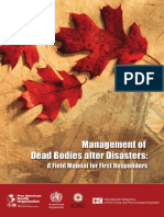 Management of Dead Bodies in Mass Disaster WHO1