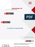 Diapositivas Sesión de Aprendizaje