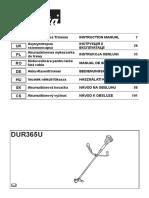 Makita DUR365U Manual