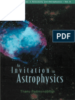 An Invitation to Astrophysics - T. Padmanabhan (World, 2006) WW