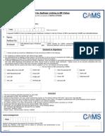 Aadhaar Update Request Form - CAMS.pdf