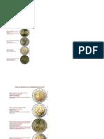 Todas Las Conmemorativas de 2 Euros Hasta 201811