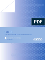No.7 CIOB TCM-CA15 Consultancy Appointment