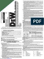 Taladro percutor Dewalt DW235G