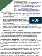 Mass Spectroscopy Ppt