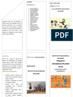 Folder  PROJETO ESCOLAR