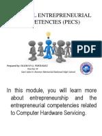 Entrepreneurial Personal
