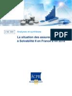 Solvabilité II 2018 Reporting ACPR
