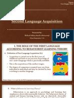 Materi Second Language Acquisition