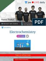 [L1]-Electrochemistry - 3 May