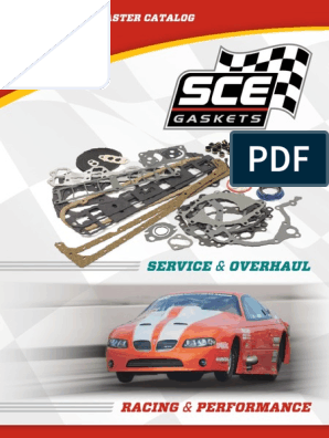 SCE GASKETS 11305 Rear Main Seal For Big Block Chevy