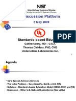 Standards-Based Education 2009 - UL