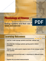Energy Systems in Sport