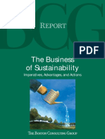 BCG the Business of Sustainability Sep 09 Tcm93-170158