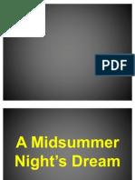 Midsummer Night's Dream Report