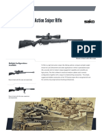 Sako Tikka t3 Tac Bolt Action Sniper Rifle (1)