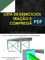Lista de Exercícios Aulas 4 e 5 Tração e Compressão Resolvido V2