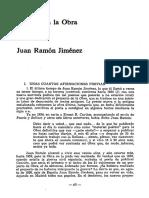 En Torno a La Obra Ltima de Juan Ramn Jimnez 0