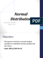 Normal Distribution(Convert normal random variable to standard normal variable).pptx