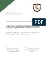 Carta a Directora