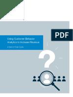 Using Customer Behavior Analytics to Increase Revenue