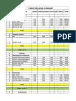 Comparision Sheet