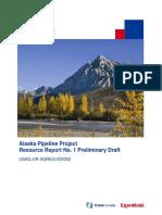 Alaska Pipeline Preliminary Draft Rr 01