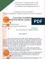 Ed. Plastică_valoarea Expresivă a Elementelor de Limbaj Plastic_ppt