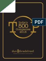 Indias Top 500 Companies 2018