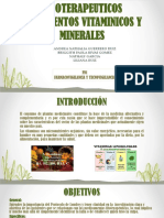 Fitoterapeuticos Suplementos Vitaminicos y Minerales