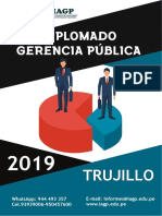 Diplomado en Gerencia Pública - 2