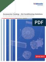 Webasto Heavy Duty Air Conditioning Accessories Catalog