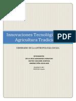 Innovaciones Tecnologicas Del Peru
