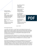 Whitmer SAFE Banking Act Letter
