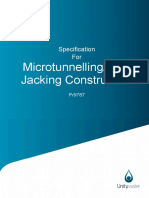 Pr9787 - Specification for Microtunnelling and Pipejacking