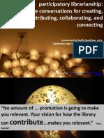 Participatory librarianship