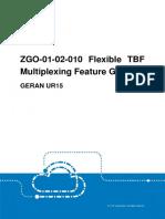 GERAN UR15 ZGO-01!02!010 Flexible TBF Multiplexing Feature Guide (V3)_V1.0