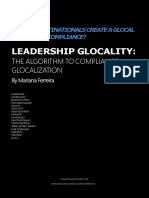 Leadership Glocality