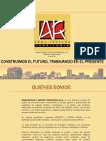 Arquitectura y Gestión Territorial