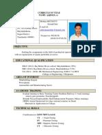 Resume Ashwin