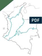 Mapa Colombia Regiones