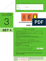 Ieo Level2 Class 3 Set 4