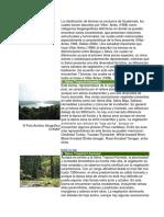 La Clasificación de Biomas Es Exclusiva de Guatemalad