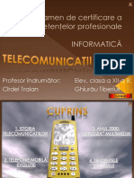 Telecomunicatii Mobile