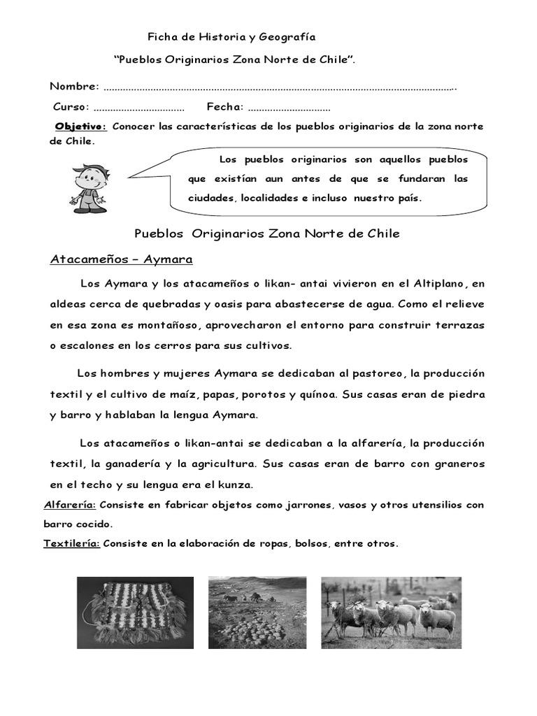 248881052 Guia Pueblos Originarios Zona Norte Cultura De