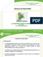 Hidráulica de Reactores