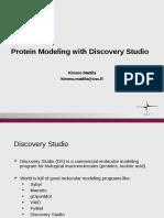 Tutorial Discovery Studio