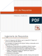 8. Define Gestión de Requisitos